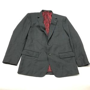 David Lee Windecher Men's Blazer Jacket Two-Button